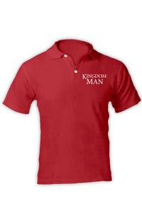 KINGDOM MAN POLO SHIRT - RED