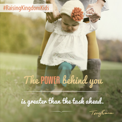 The Power Behind You