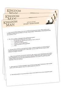 Kingdom Man Study Questions