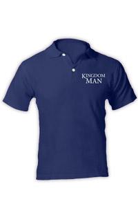 KINGDOM MAN POLO SHIRT - BLUE