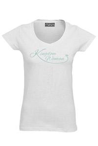 KINGDOM WOMAN T-SHIRT WHITE