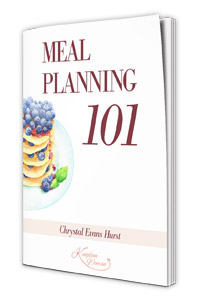 Meal Planning with Chrystal Evans Hurst